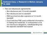 certicom corp v research in motion january 19 2009