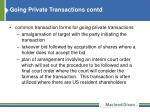 going private transactions contd3