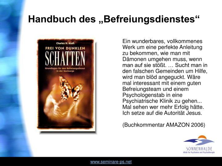 """Handbuch des """"Befreiungsdienstes"""""""