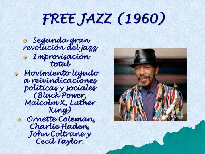 FREE JAZZ (1960)