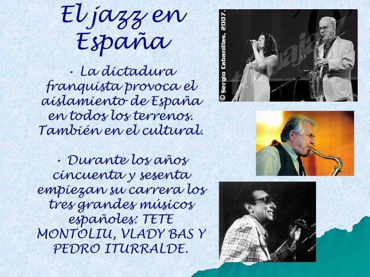 El jazz en España