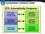 suspended transactions
