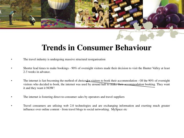 Trends in Consumer Behaviour