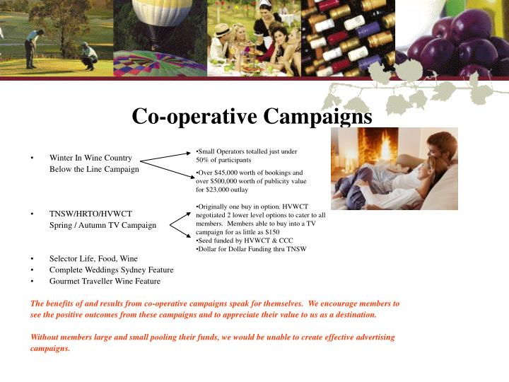 Co-operative Campaigns