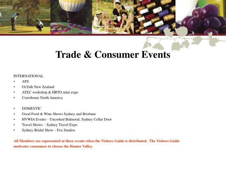Trade & Consumer Events