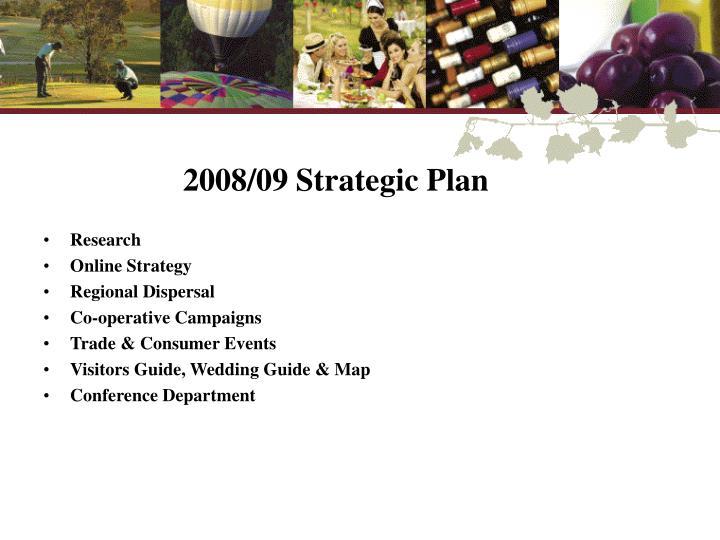 2008/09 Strategic Plan