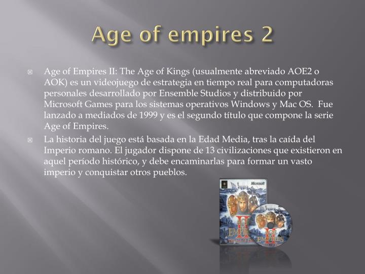 Age of empires 21