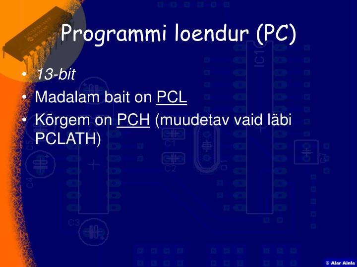 Programmi loendur (PC)