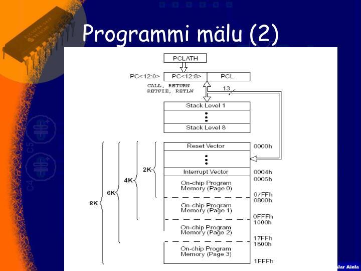 Programmi mälu (2)
