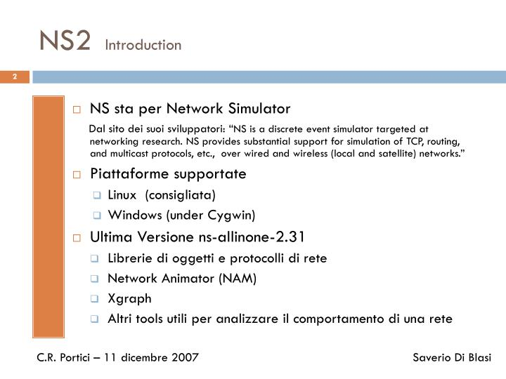 Ns2 introduction