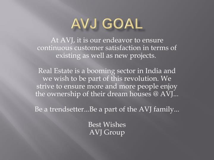 AVJ Goal