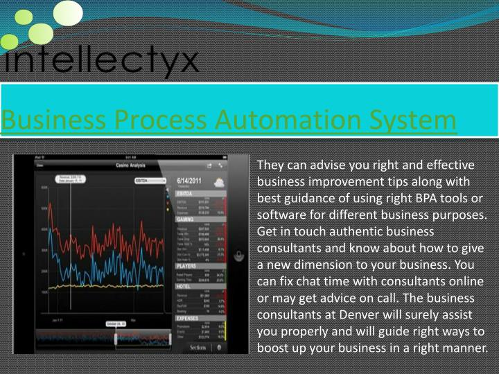 Business Process Automation System