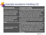 example exceptions handling 3