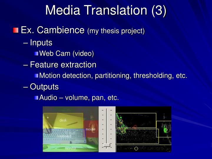 Media Translation (3)
