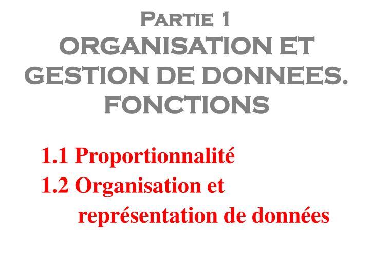 1.1 Proportionnalité