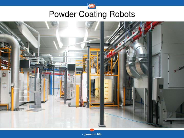 Powder Coating Robots