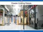 powder coating robots