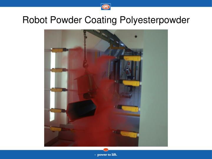 Robot Powder Coating Polyesterpowder