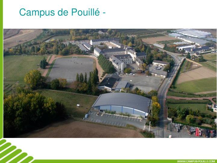Campus de Pouillé -