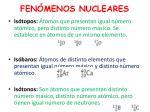 fen menos nucleares