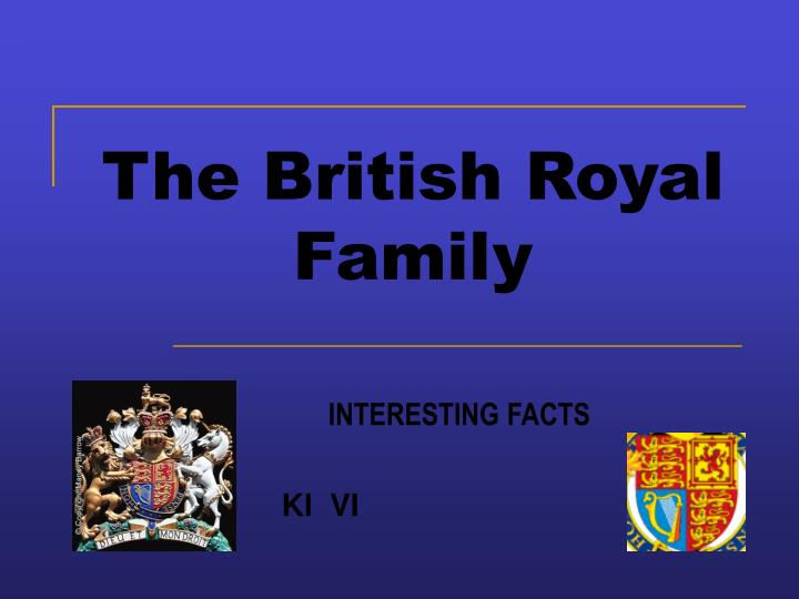 The british royal family