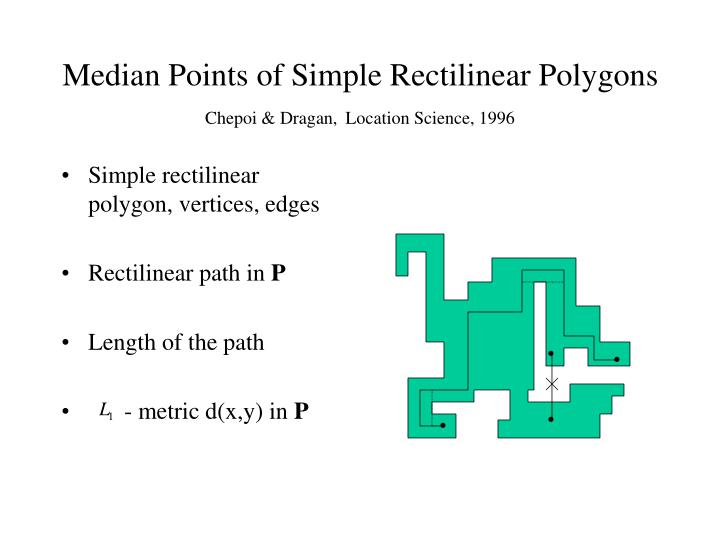 Simple rectilinear polygon, vertices, edges