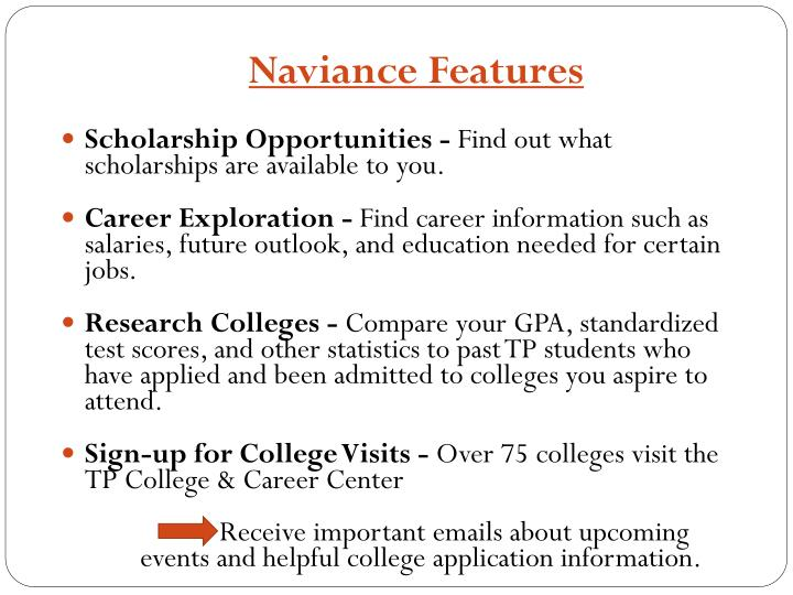 Scholarship Opportunities -