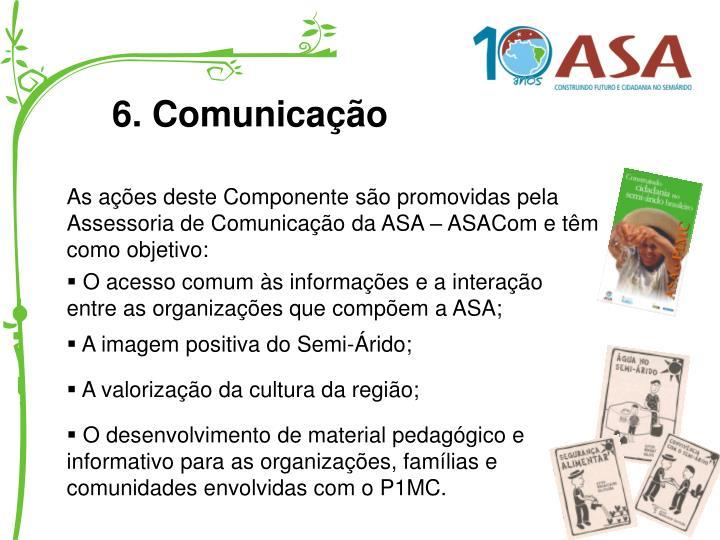 6. Comunicação