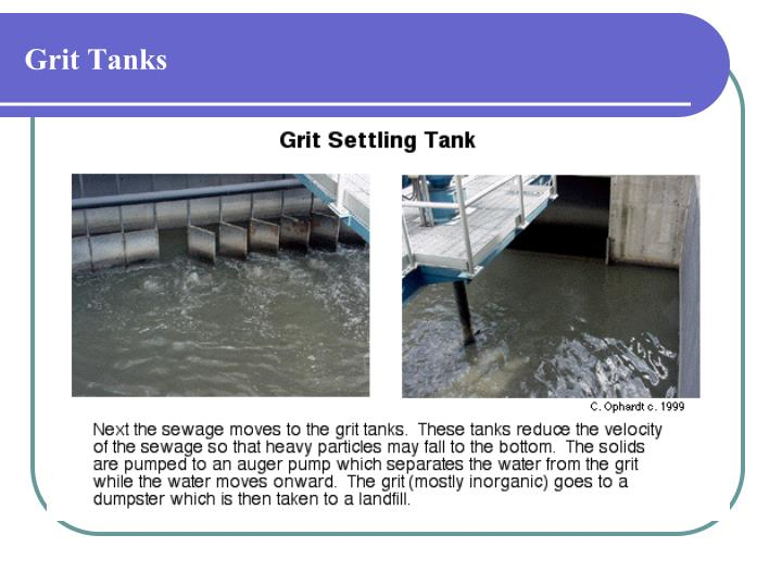 Grit Tanks