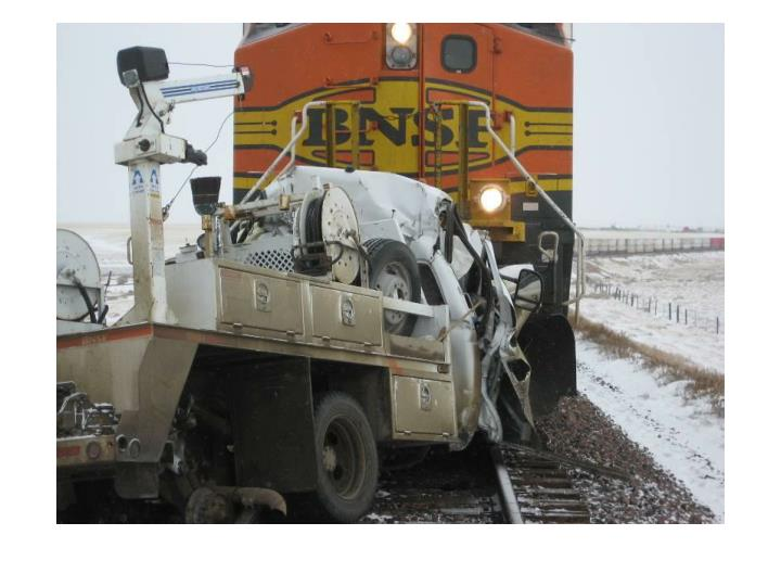 Truck train incident devon mt