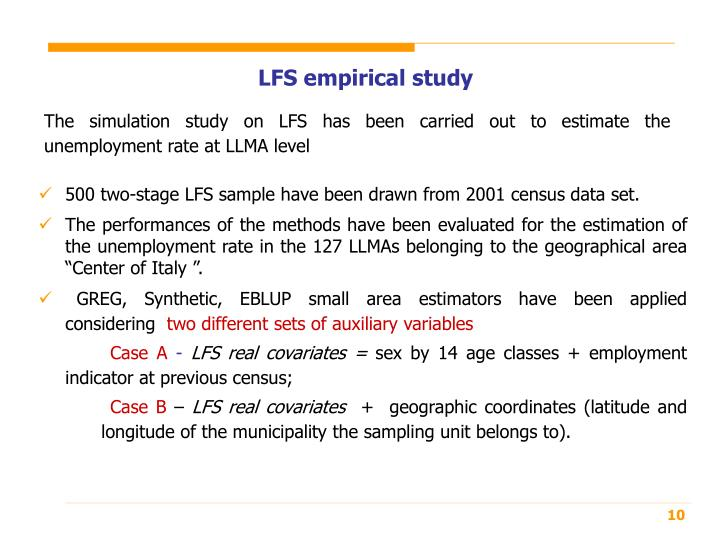 LFS empirical study