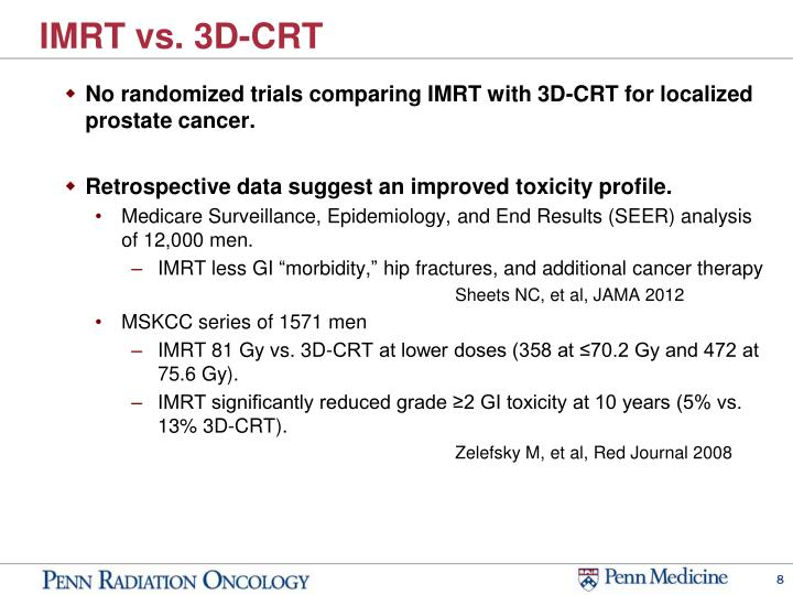 IMRT vs. 3D-CRT