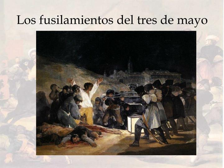 Los fusilamientos del tres de mayo