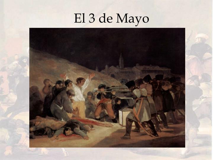 El 3 de Mayo