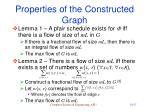 properties of the constructed graph