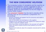 the new consumers helpdesk