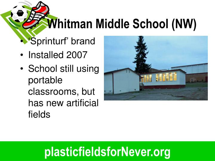 Whitman Middle School (NW)