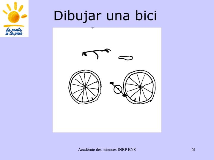 Dibujar una bici