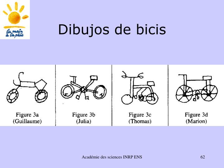 Dibujos de bicis