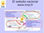 el website nacional www inrp fr