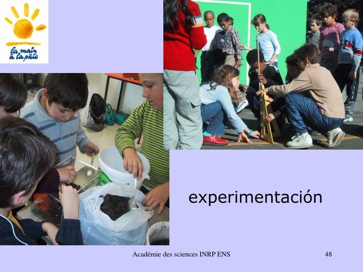 experimentaci