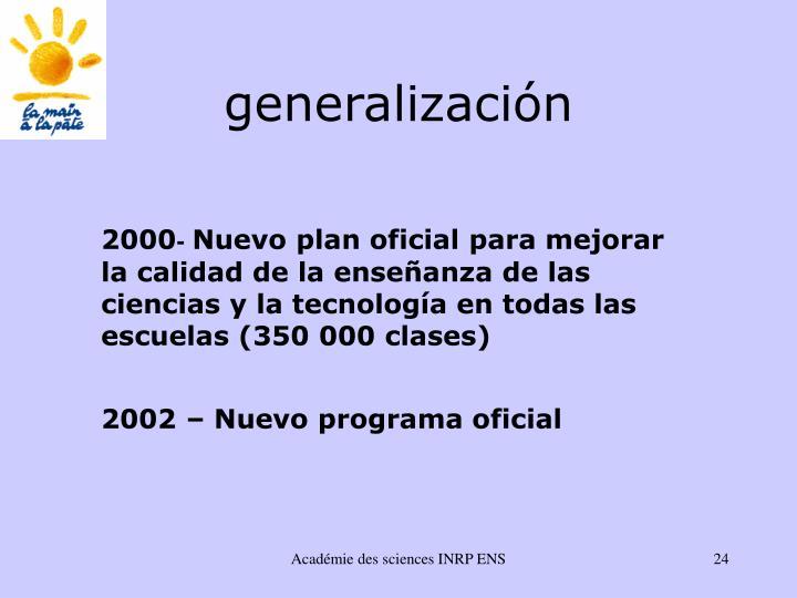 generalizaci
