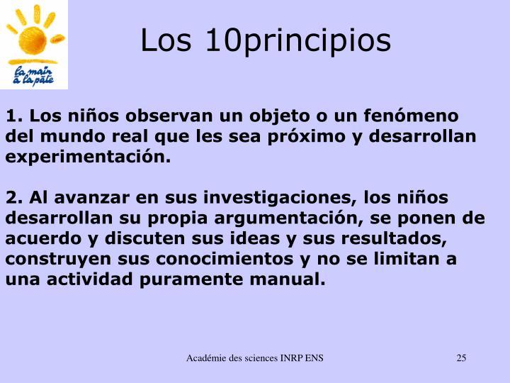 Los 10principios