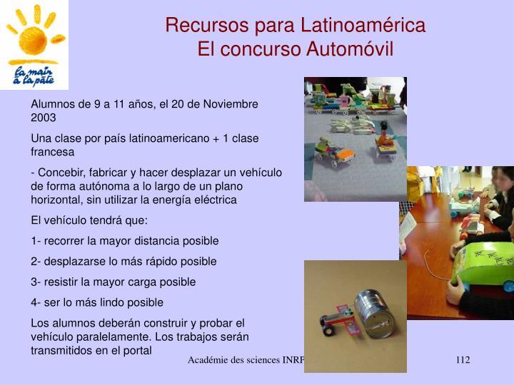 Recursos para Latinoamérica