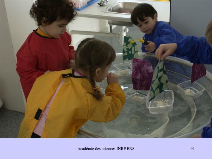 Académie des sciences INRP ENS