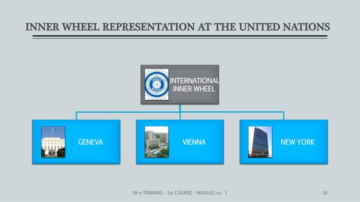 INNER WHEEL REPRESENTATION AT THE UNITED NATIONS