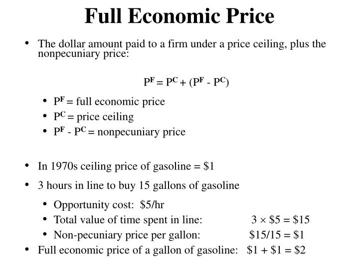 Full Economic Price