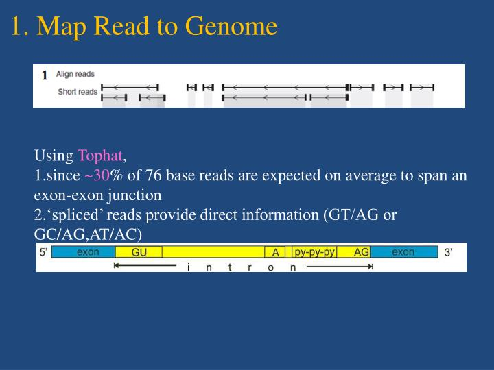 1. Map Read to Genome