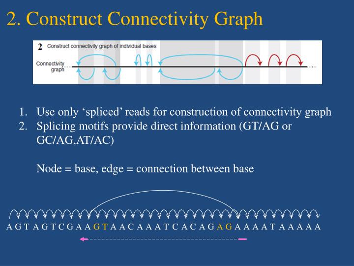 2. Construct Connectivity Graph