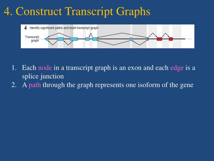 4. Construct Transcript Graphs